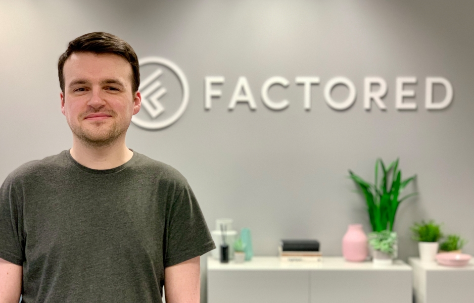 A new addition to the Factored team